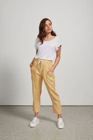 L/Lies Luxe Linen Pants