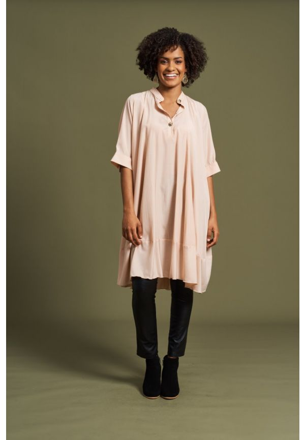 EB & IVE Aretha Top / Dress ONE SIZE - Blush