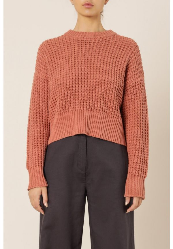 Nude Lucy Eden Waffle Knit Jumper