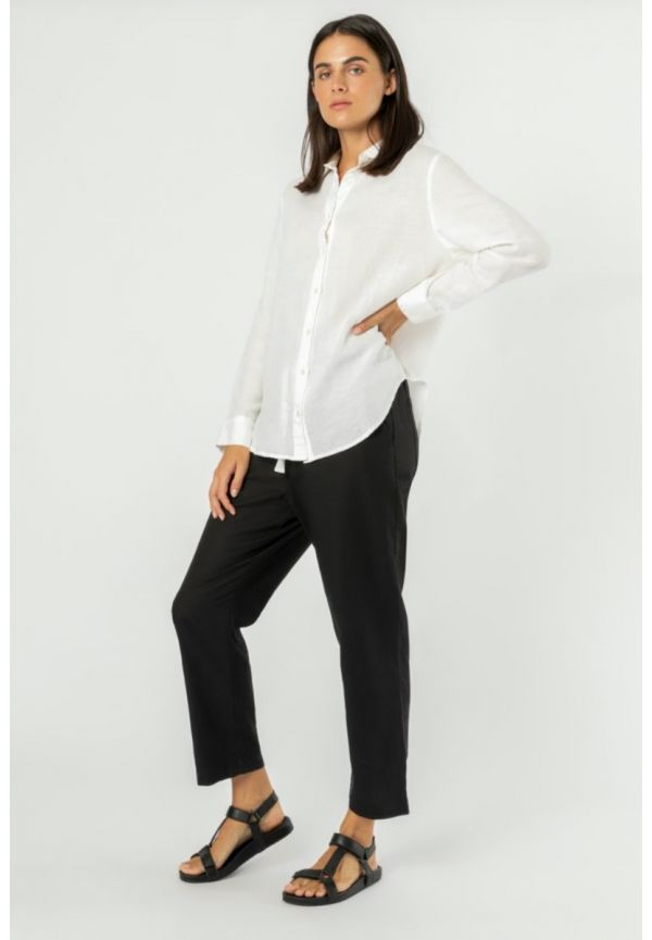 Nude Lucy Classic Linen Shirt