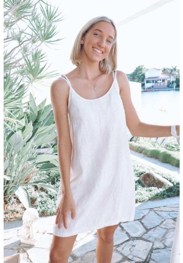 EADIE DRESS 100% LINEN