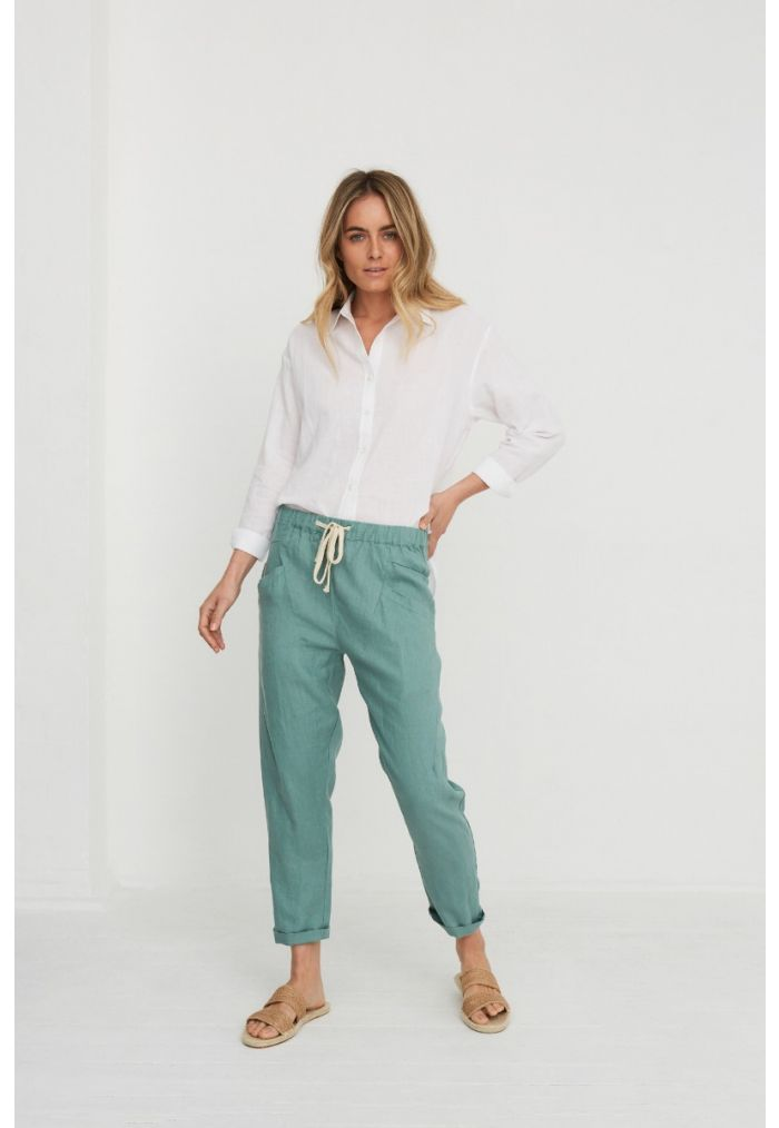 Little Lies Luxe Linen Pants