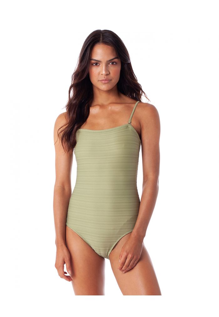 RHYTHM TAHITI BANDEAU ONE PIECE