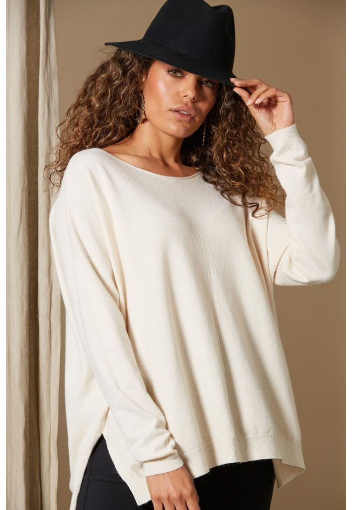 Isle Of Mine Clarity Knit ONE SIZE - Creme