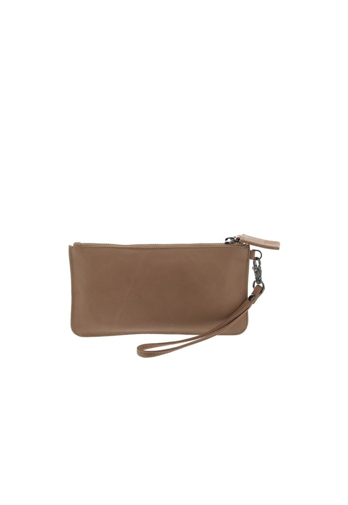 GABEE ABRIL LEATHER WRISTLET
