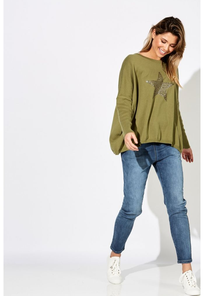 Haven Chalet Knit ONE SIZE - Wasabi