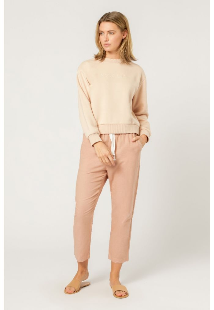 NUDE LUCY EMBR SLOGAN SWEAT
