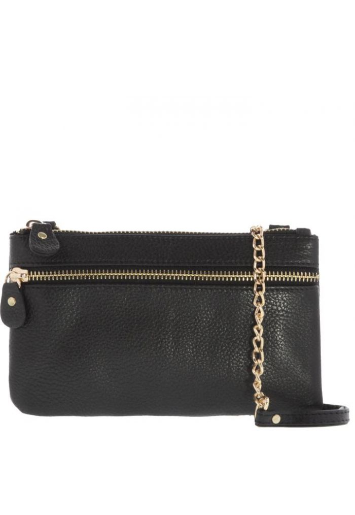 GABEE LAINIE LEATHER CROSSBODY BAG