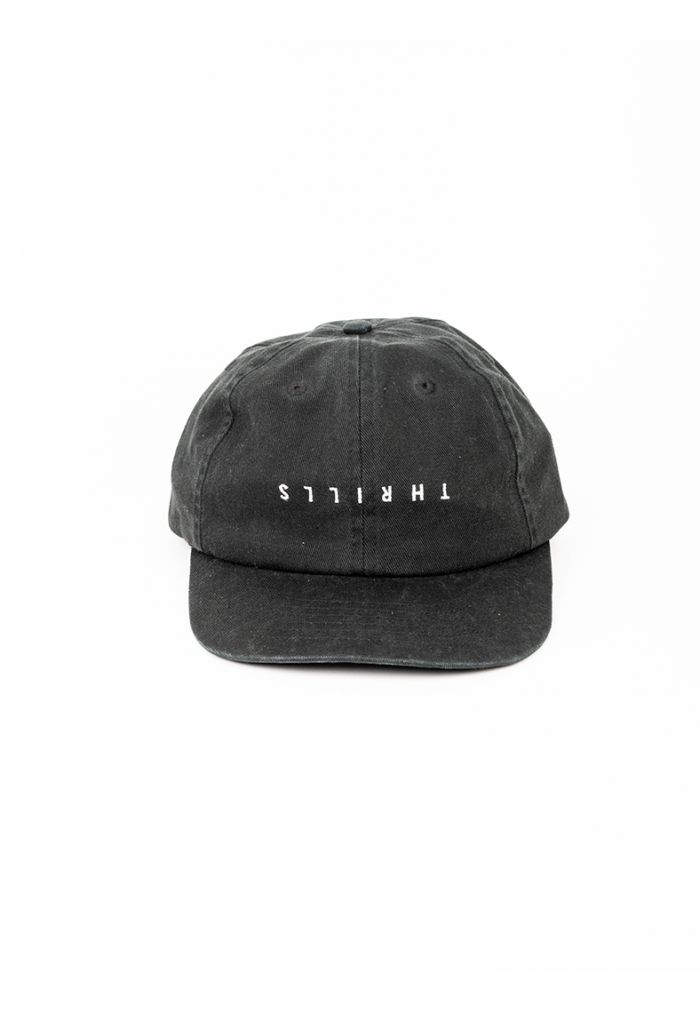 Thrills Minimal Thrills Cap - Merch Black