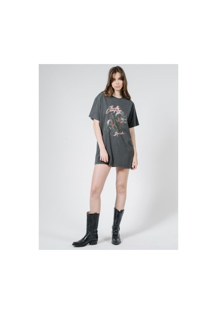 Thrills Bad Luck Merch Tee Dress